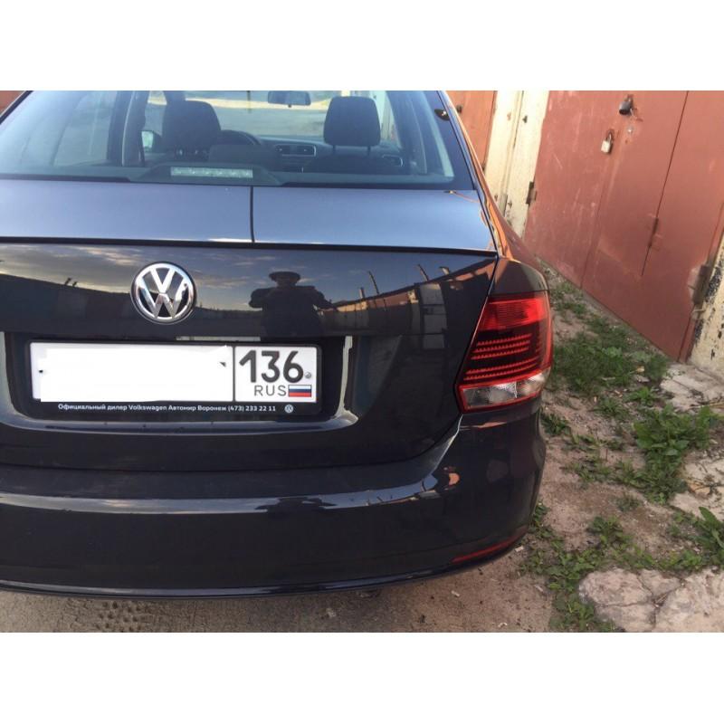 Аэро спойлер Volkswagen Polo sedan